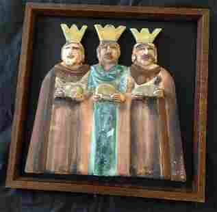 Russian Style Icon Religious Images, Three Wise Men