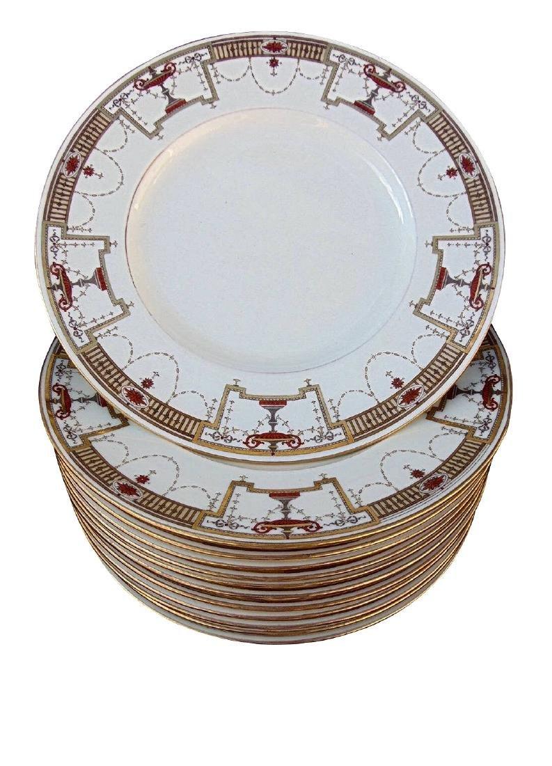 12 Tiffany & Co Minton Porcelain Luncheon Plates