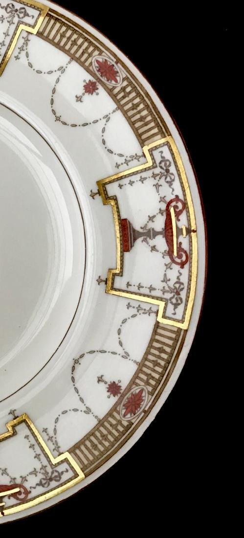 12 Tiffany & Co Minton Porcelain Luncheon Plates - 2