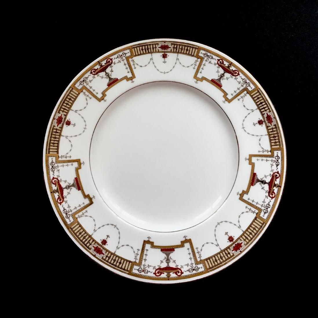 12 Tiffany & Co Minton Porcelain Luncheon Plates - 3