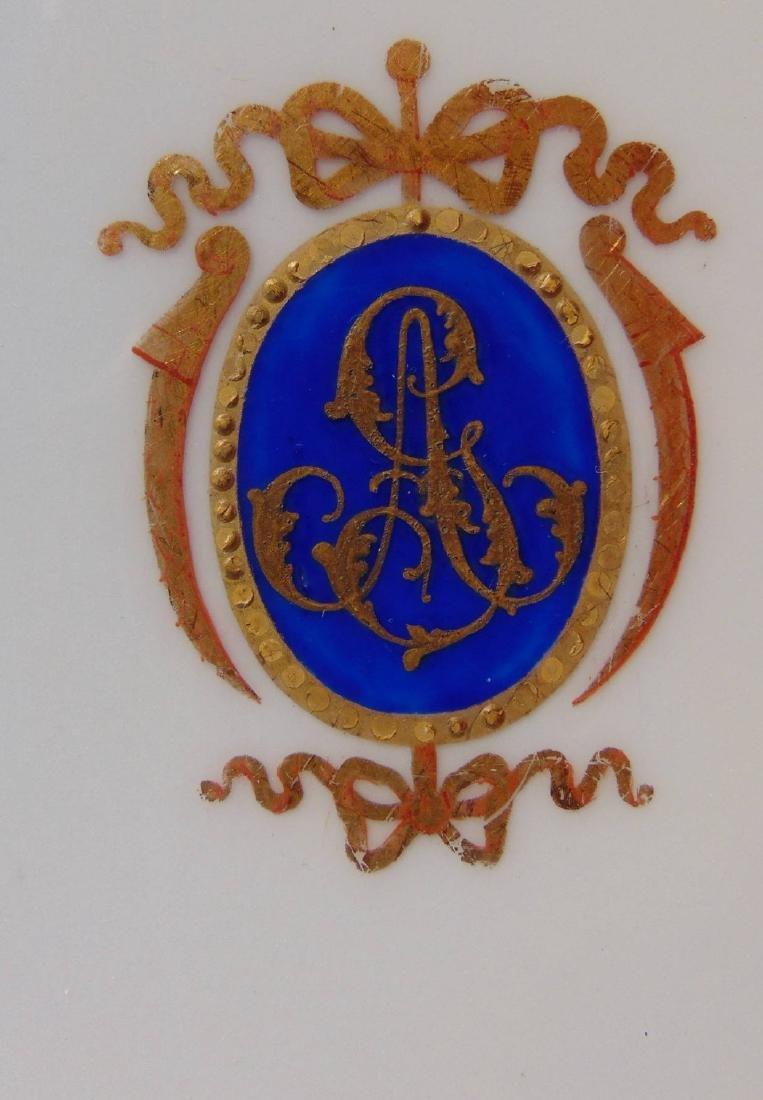 18 Pieces of Louis-Philippe Paris porcelain dinnerware - 2