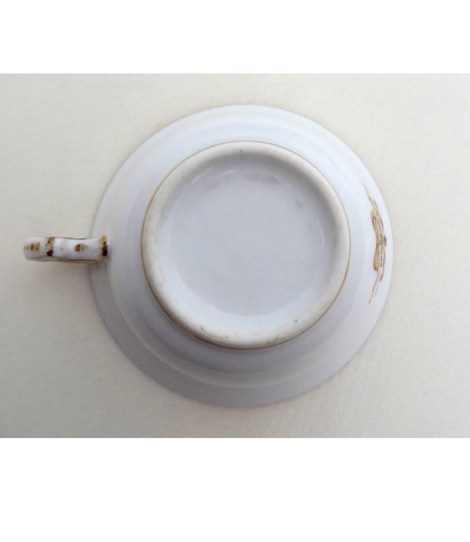 18 Pieces of Louis-Philippe Paris porcelain dinnerware - 3