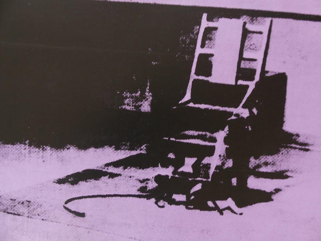 Andy Warhol: Electric Chair Silkscreen - 2