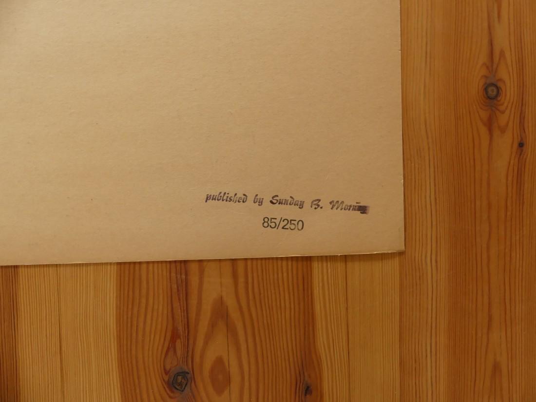 Andy Warhol: Electric Chair Silkscreen - 3