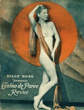 Rare Casino De Paree Brochure, 1934