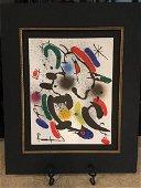 Joan Miro BFK Rives Lithograph, 1972 - Signed