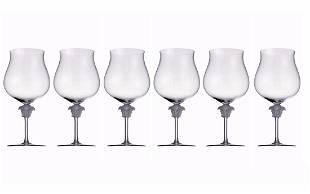 Set 6 Rosenthal Meets Versace Lumiere Brandy Glasses