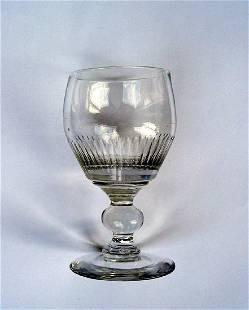 6 English Wine Glasses, Georgian