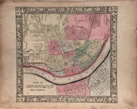 Mitchell: Cincinnati (and Vicinity) Map