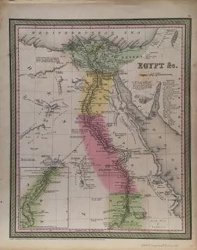 Mitchell Egypt Map