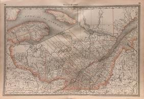 Hardesty Quebec Map