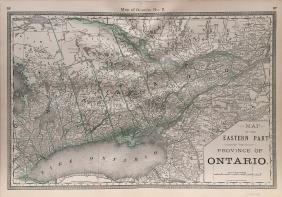 Hardesty Ontario (2 Of 2) Map