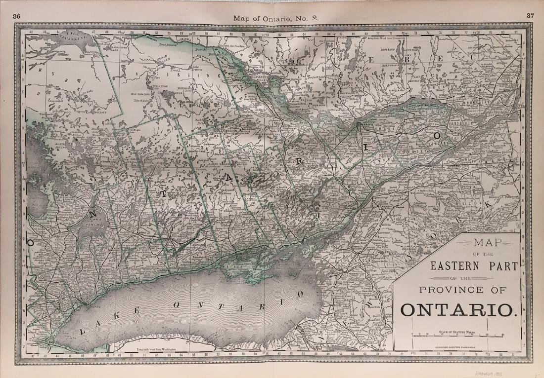 Hardesty Ontario (2 Of 2) Map