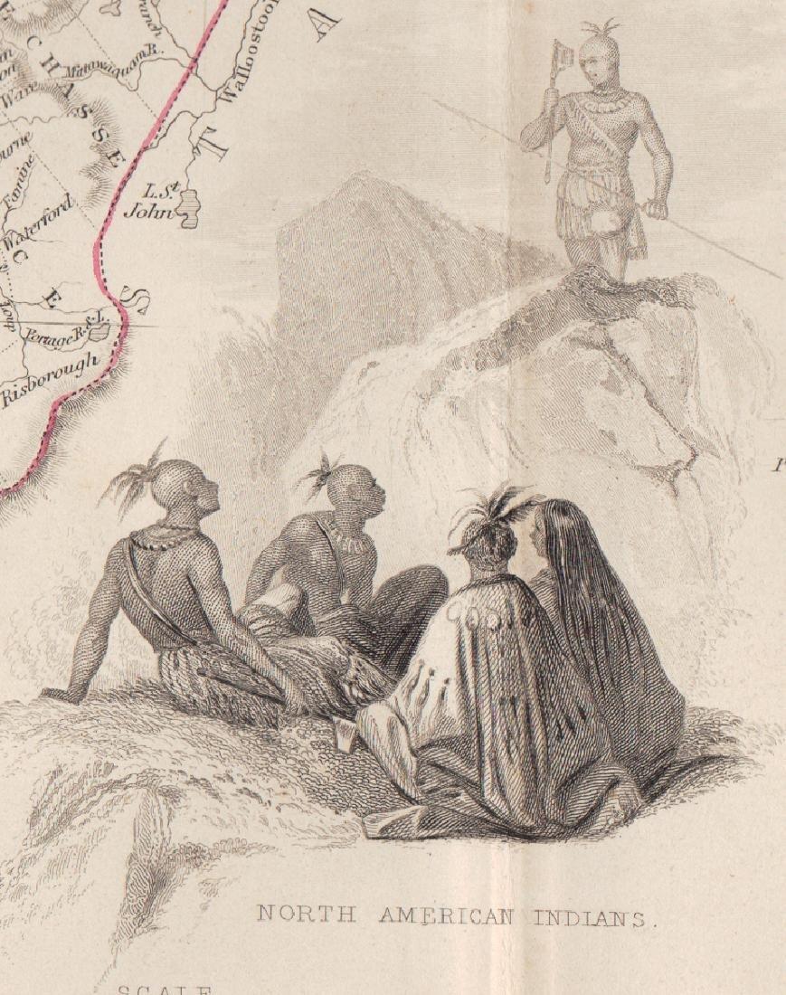 John Rapkin Map Of East Canada & New Brunswick, 1851 - 2