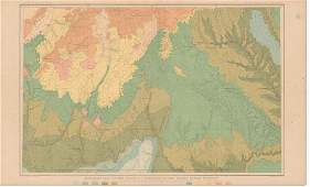 Geologic Map The Mesozoic Terraces Of The Grand Canyo