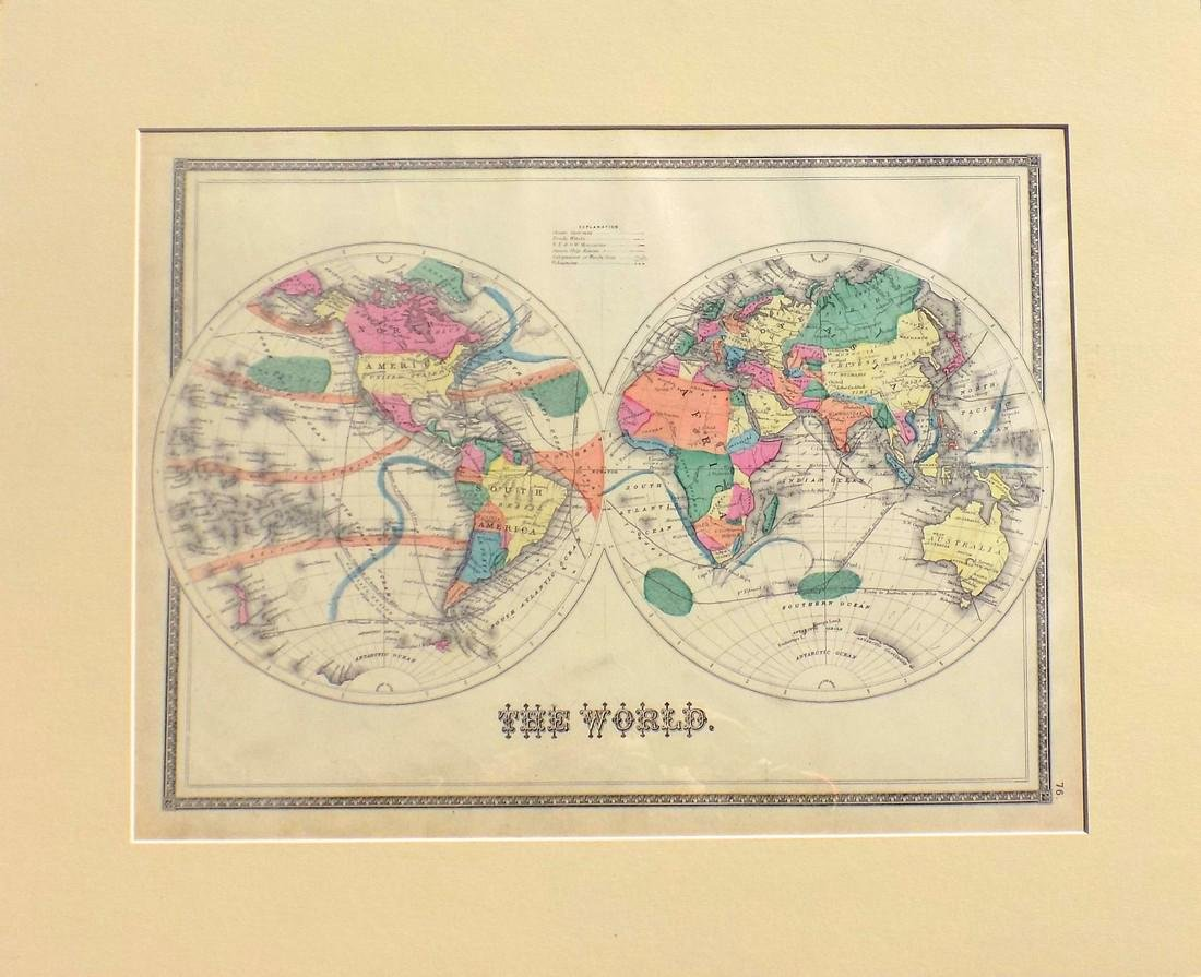 Map of the World 1873
