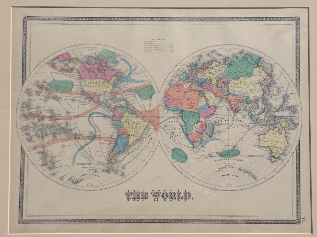 Map of the World 1873 - 2