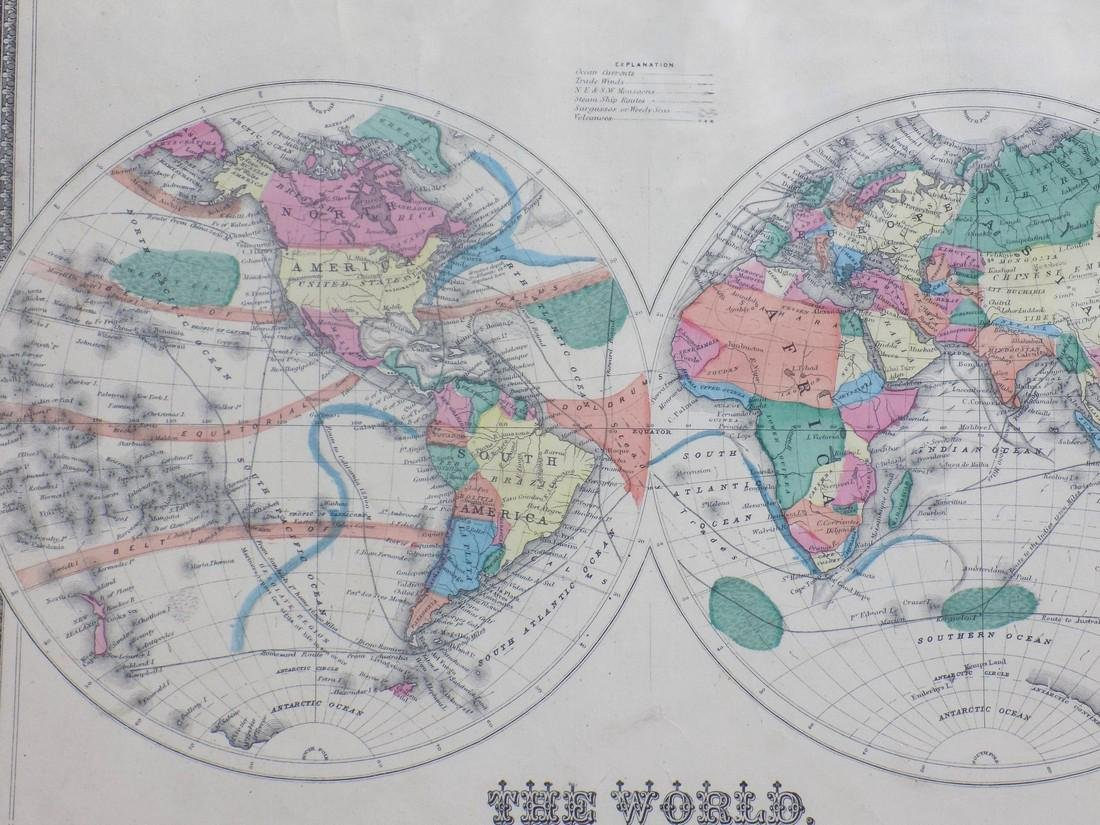 Map of the World 1873 - 3