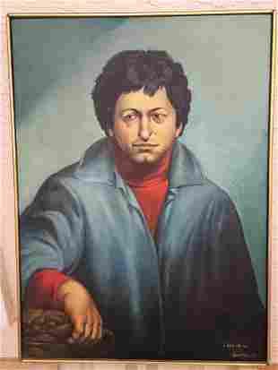 Leandro Velasco Self-Portrait