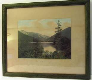 Charles H. Sawyer: Echo Lake, Franconia Notch