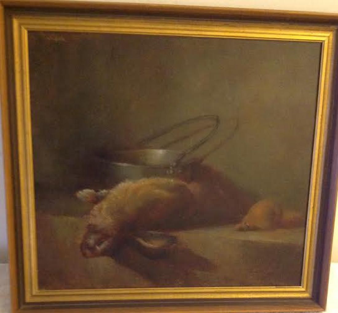 Signed Michael Tanzer Oil Painting