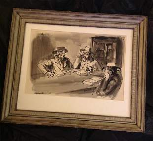 Nussbaum '67 Signed Painting
