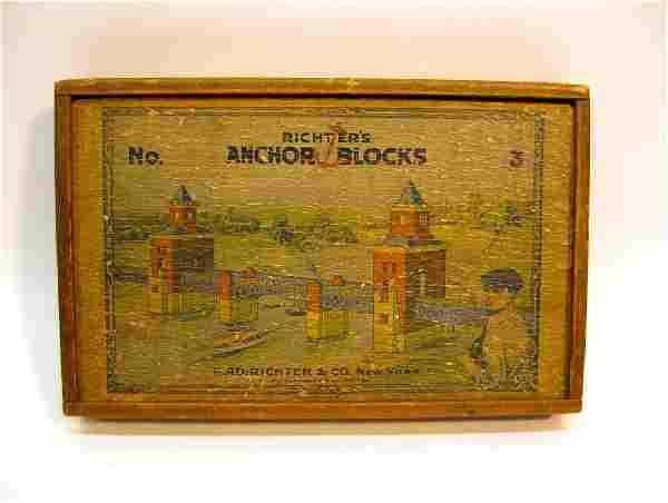 Richter's Anchor Building Blocks, 1904