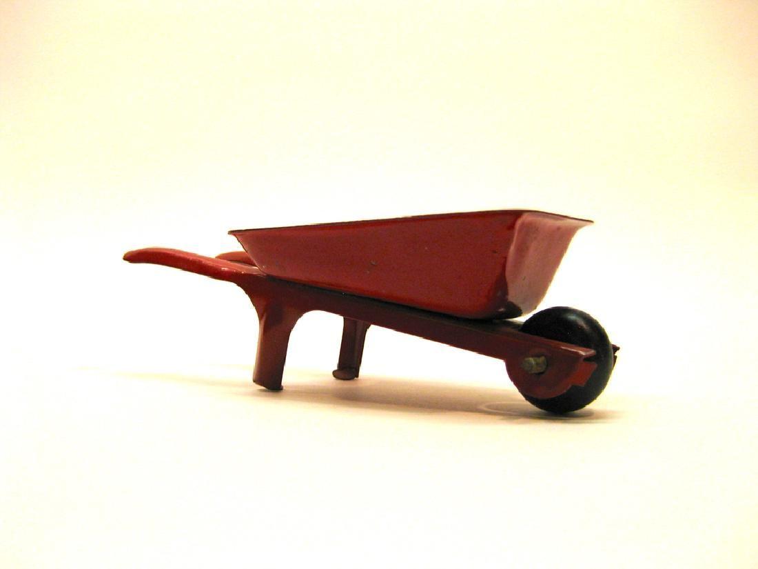 Steel Red Wheelbarrow