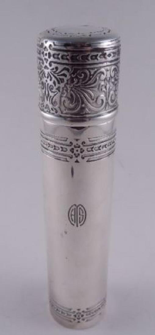 Tiffany Sterling Silver Antique Extra Tall Powder