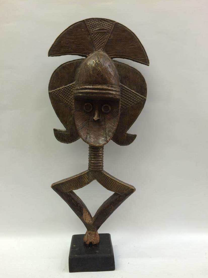 Bakota Reliquary Guardian Statue from Gabon