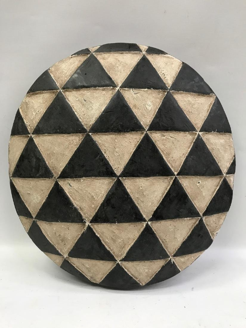 Round Zulu Shield from South Africa