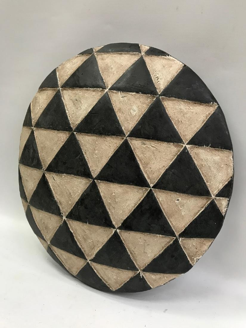 Round Zulu Shield from South Africa - 3