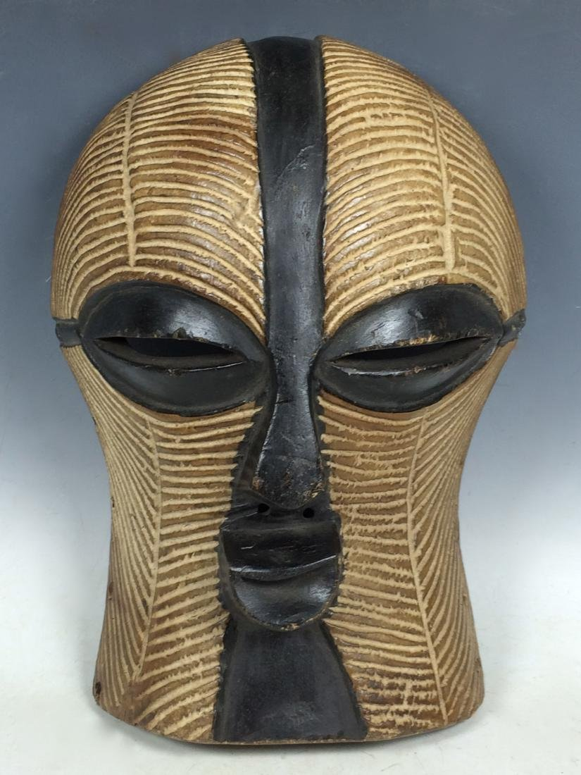 African Art Songye Ceremonial Mask from D.R. Congo