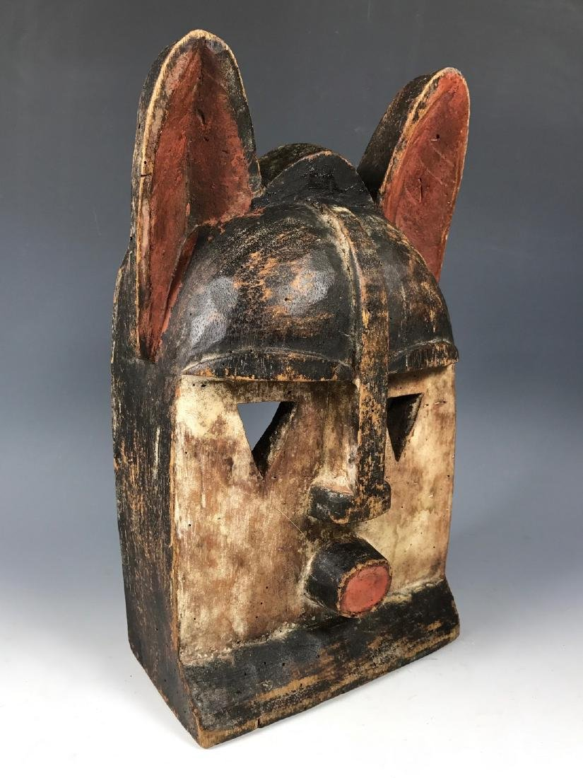 African Art Kwele Ceremonial Mask from Gabon - 2