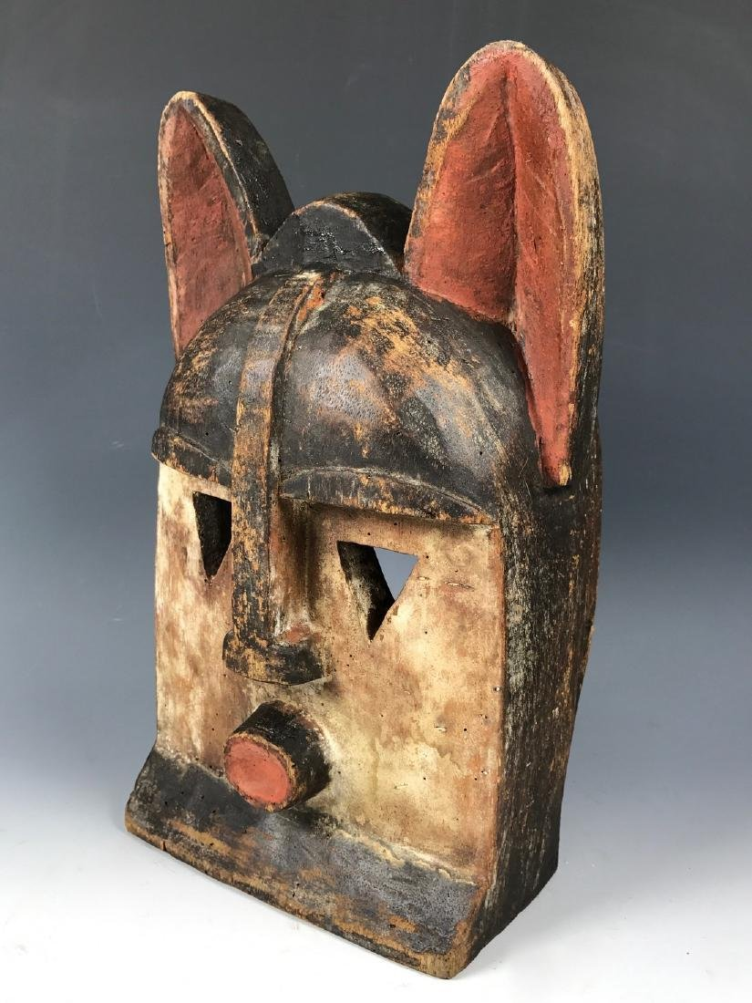 African Art Kwele Ceremonial Mask from Gabon - 3