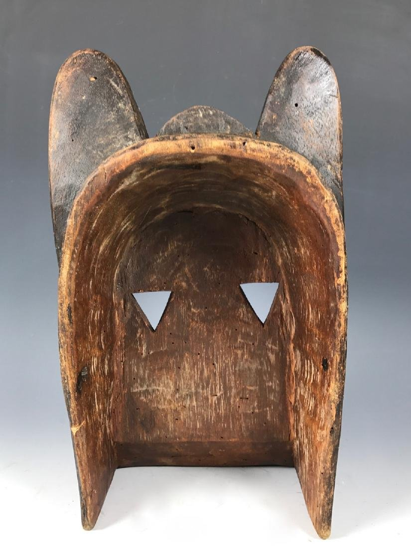 African Art Kwele Ceremonial Mask from Gabon - 4