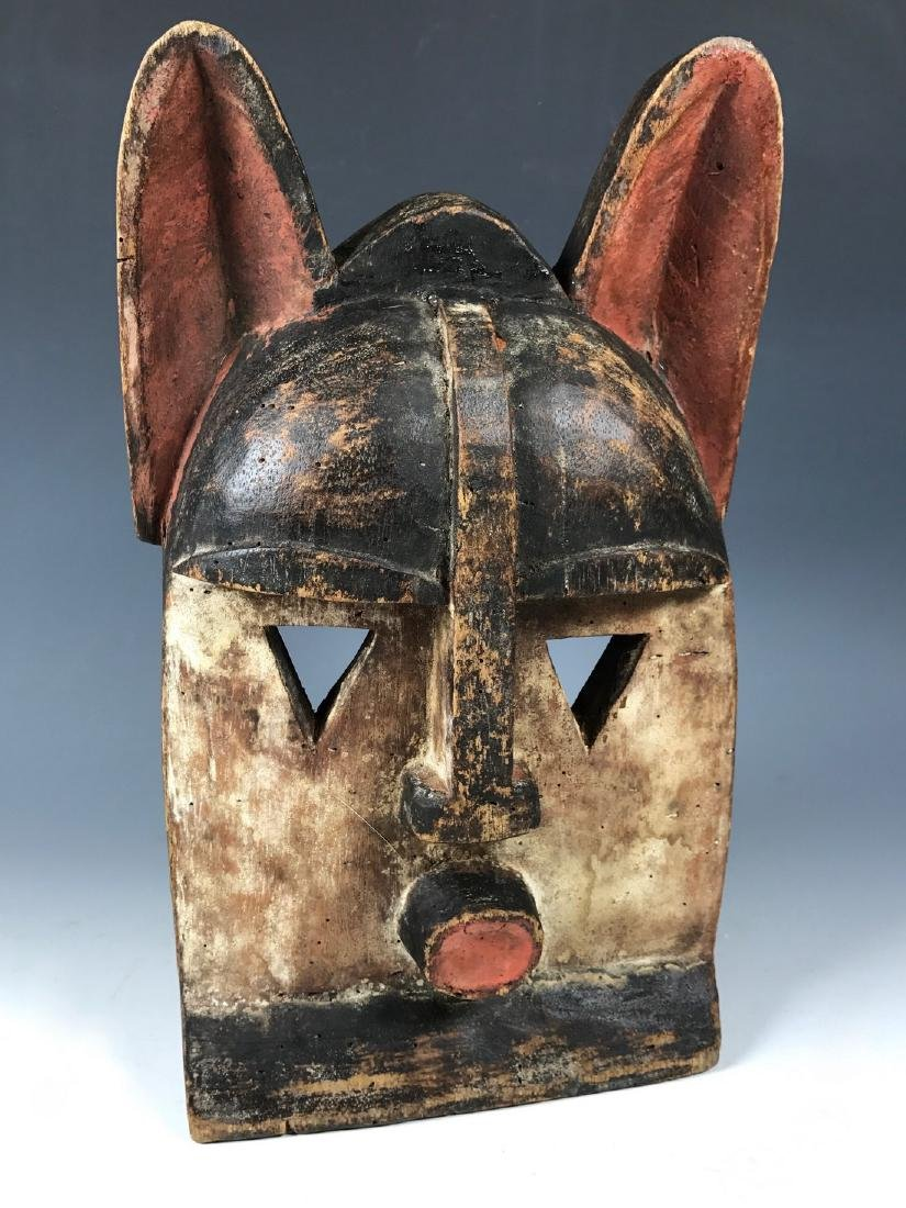 African Art Kwele Ceremonial Mask from Gabon - 5