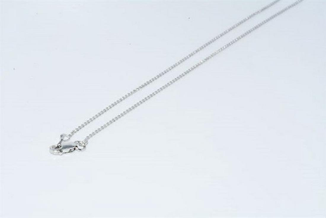 3.12ct Natural Blue Topaz & Diamond Necklace - 7