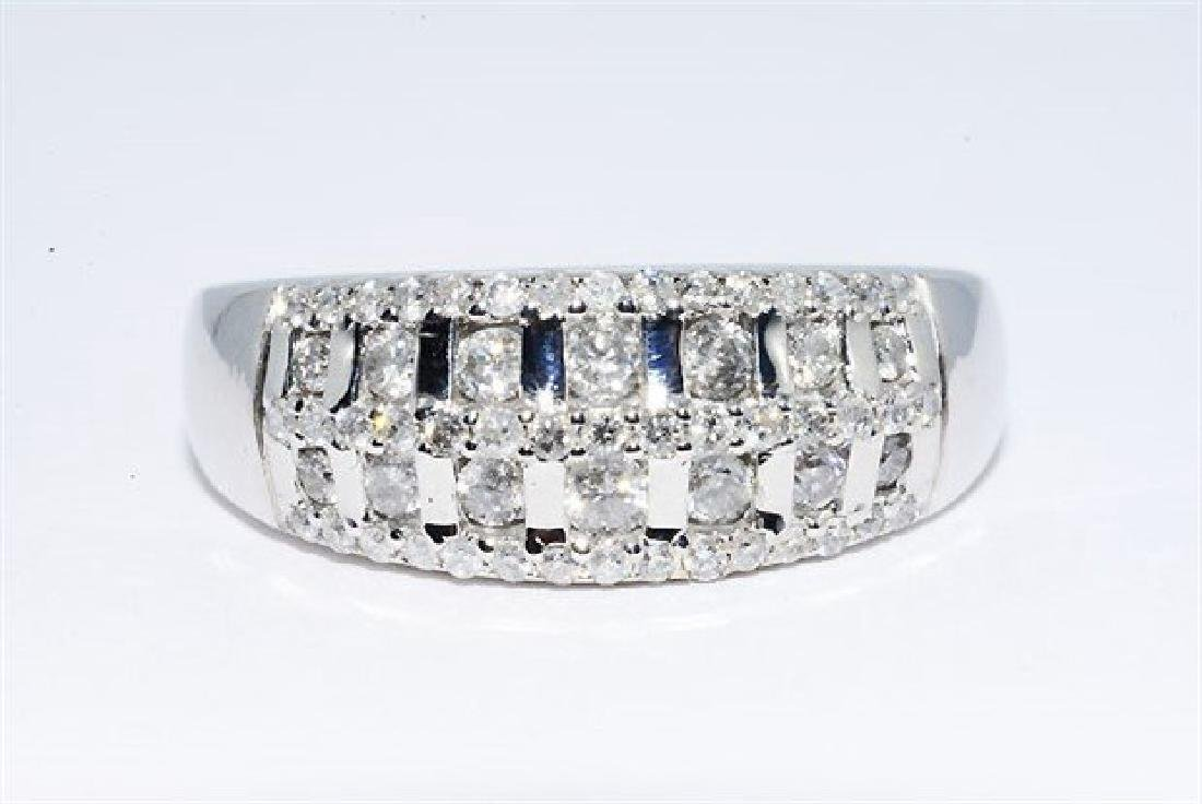 .50ct Natural Round Diamond Cocktail 10k Gold Ring