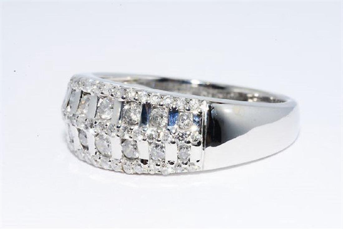 .50ct Natural Round Diamond Cocktail 10k Gold Ring - 2
