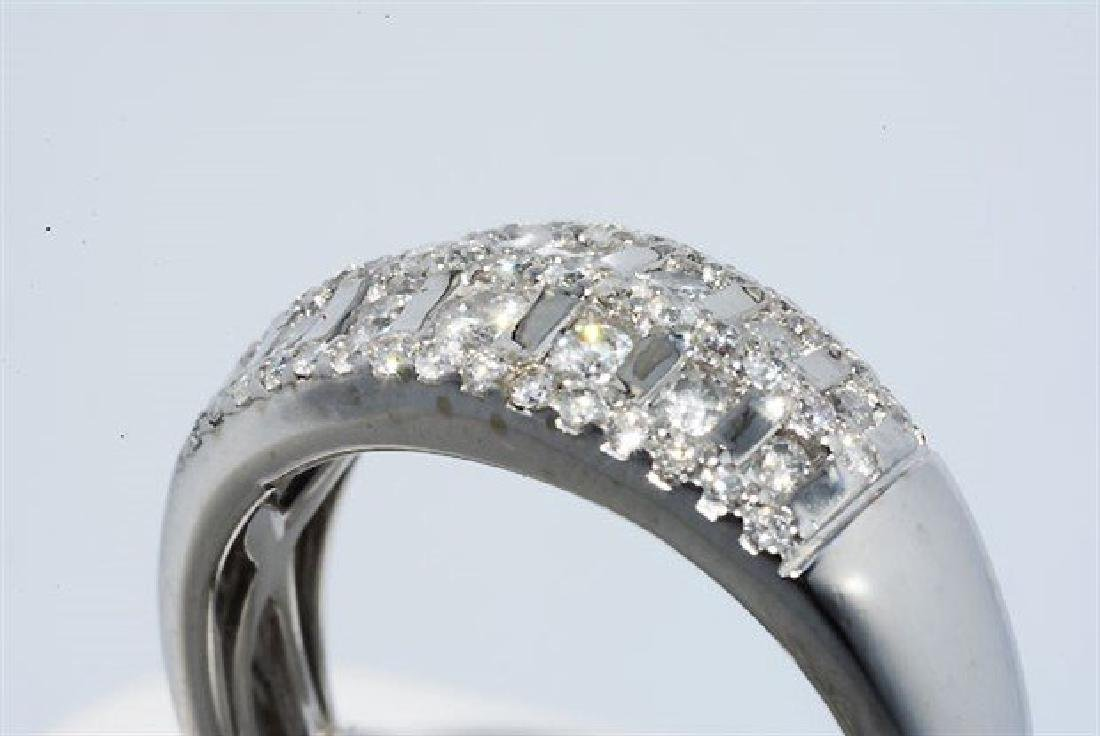 .50ct Natural Round Diamond Cocktail 10k Gold Ring - 6