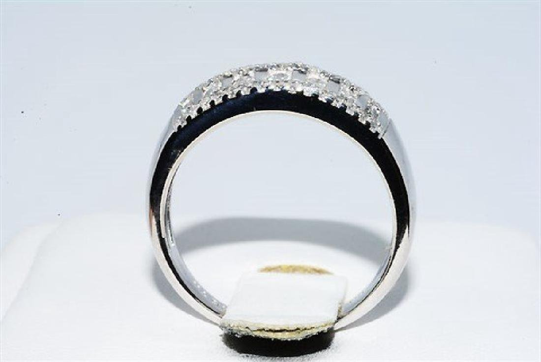 .50ct Natural Round Diamond Cocktail 10k Gold Ring - 7