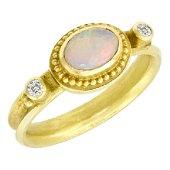 Barbara Heinrich 18K Gold Opal Ring