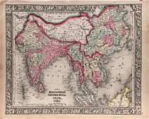Hindoostan, Farther India, China, & Tibet Map