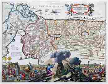 Israel Map, 1702