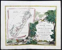 Zatta: Le Isole Bermude Map
