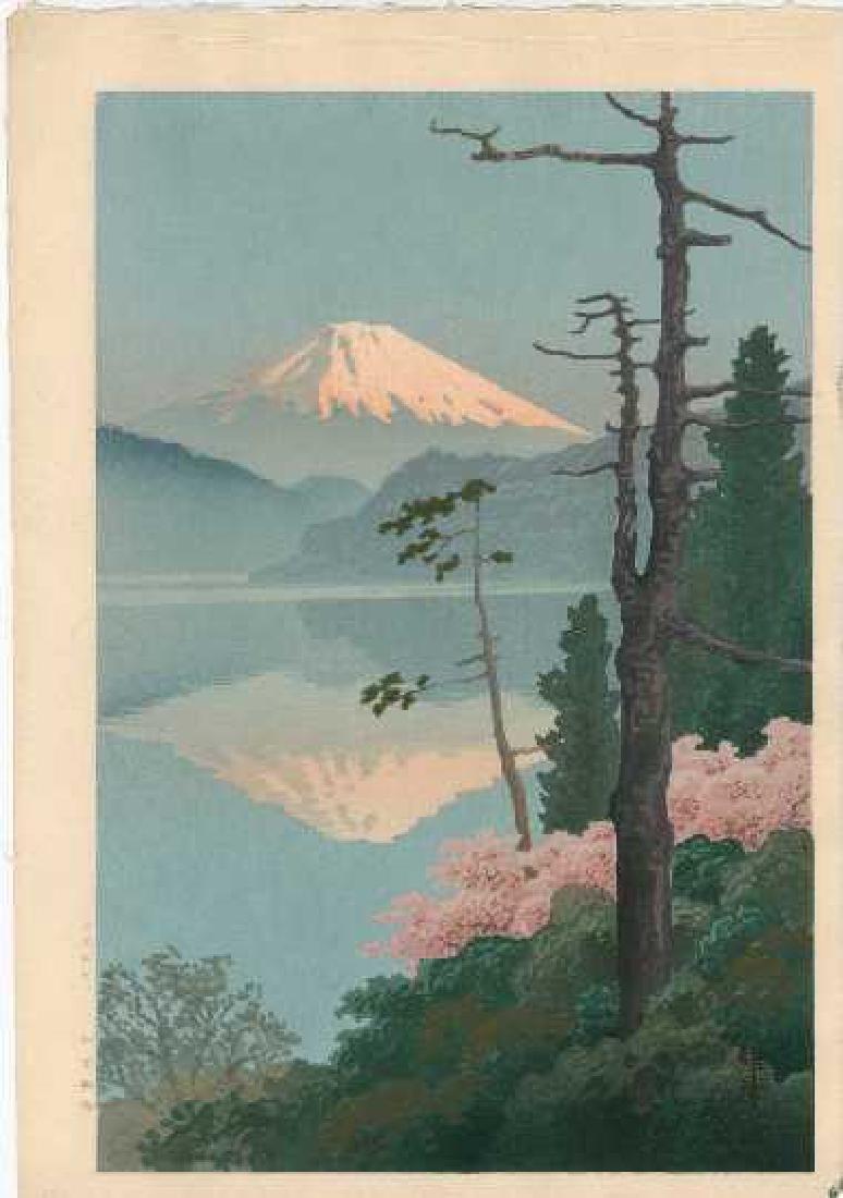 Ito Yuhan: Fuji from Taganoura+Bonus Print