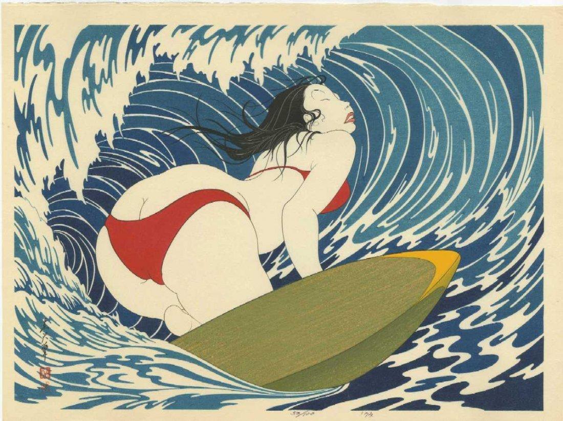 Yoshio Okada: Surfer Girl+Bonus Print