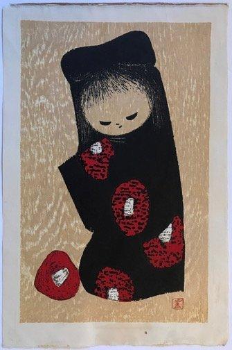 Kaoru Kawano: Girl with Flowers