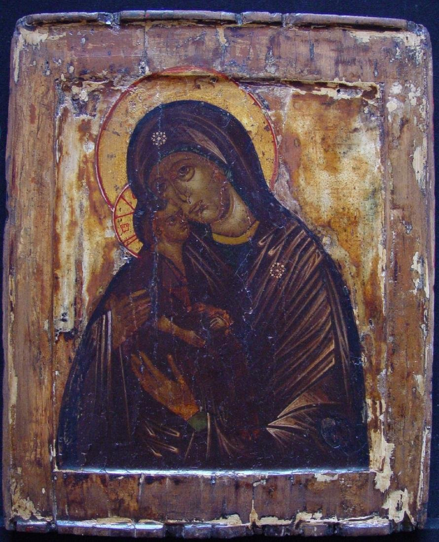 Mother of God Donskaya Russian Icon, 1600